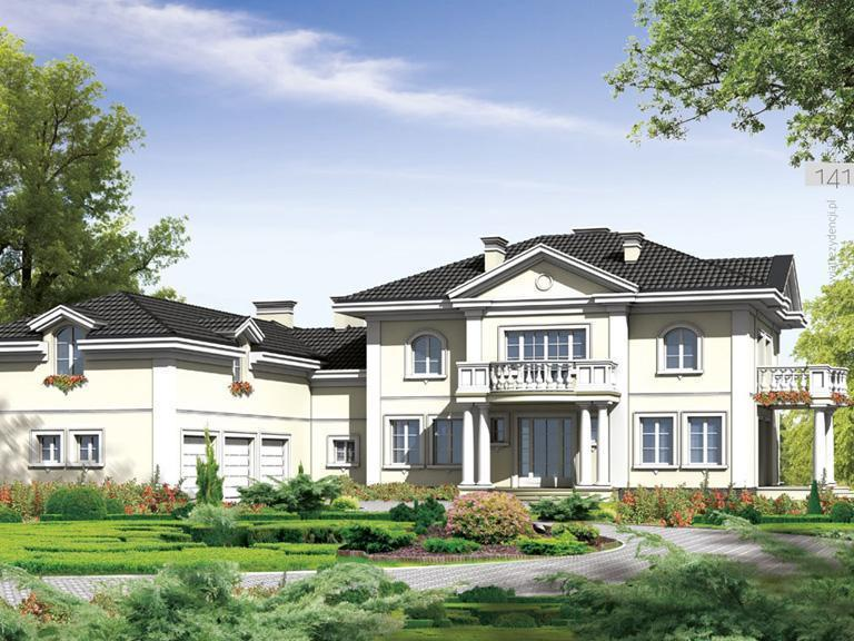 Projekty domów stylowych