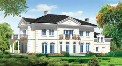 projekty domów 40